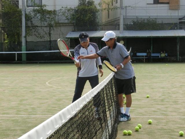 『はじめてのテニスレッスン』スタートの画像